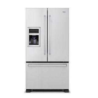 Designer Freestanding 36 Stainless French Door Refrigerator Freezer