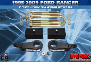 1995 2009 Ford Ranger 3 Front 2 Rear Full Lift Kit 4WD 4x4 Complete