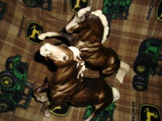 traditional breyer horses lot Diablo and