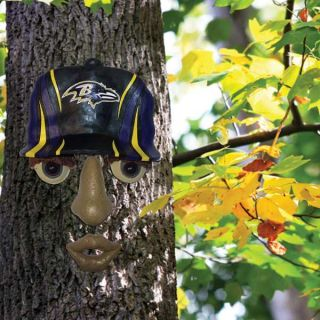 Baltimore Ravens NFL Forest Face Wall and Tree Yard Decoration