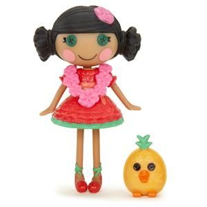 New Mini Lalaloopsy Mango Tiki Wiki Doll Hawaiian Island Girl Pet