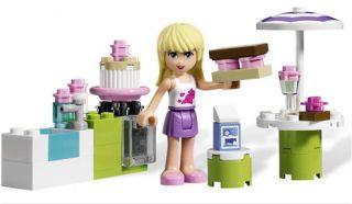 LEGO Friends 3930 Stephanies Outdoor Bakery Set (NO BOX) NEW