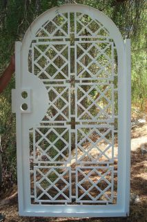 CONTEMPORARY GATE METAL ON SALE GARDEN IRON ENTRY MODERN CUT ART