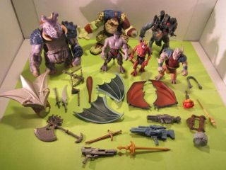 Small Soldiers and Gargoyles Action Figure Lot 1990s