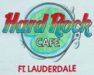 Hard Rock Cafe Fort Lauderdale Heavy Tee T Shirt Small