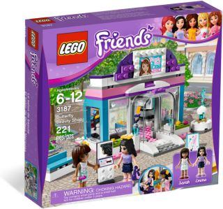 NEW 2012 LEGO FRIENDS 3187 BUTTERFLY BEAUTY SHOP *NIB, GREAT FIND AND