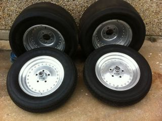 Centerline front and rear Auto Drag rims with Mickey Thompson Tires