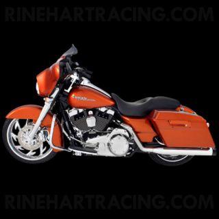 Rinehart 4 Mufflers Exhaust Classic True Harley Street Glide FLHX