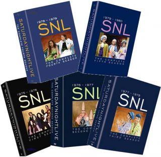 SNL Saturday Night Live Season 1 2 3 4 5 Seasons 1 5