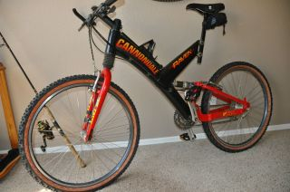 1998 Cannondale Raven, extras, very little use, Super V 2000