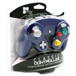 Nintendo GameCube Wii Classic Controller Wired Brand New Purple TTX