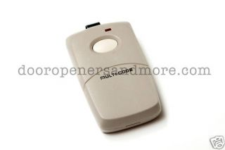 Multi Code Garage Door Gate Opener Remote