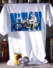 Metro Racing Gary Nixon Retro Tee Shirt M BNWT