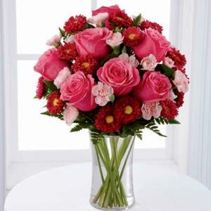FTD Precious Heart Bouquet XX 4790 Vase Included Flower Delivery