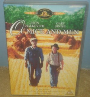 Mice and Men DVD 1992 John Malkovich Gary Sinise 5050070009385