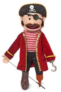 25 Pro Puppets Full Body Puppet Pirate