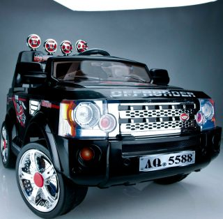 Ride on Kid Car 2 Seater Discovery Electric Battery SUV Toy 3 JJ012