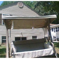 Home Depot 2 Person Charm Swing S02239 Replacement Canopy