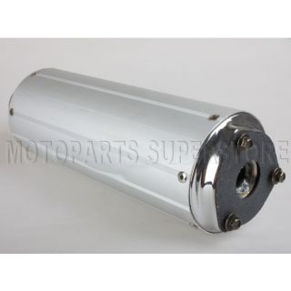 gas scooter muffler exhaust 50cc GY6 Jonway Roketa moped parts