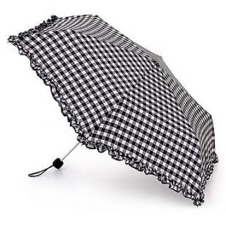 Fulton Birdcage Ladies Walking Length Clear Dome Umbrella Full Range