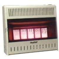 Plaques Nat Gas Vent Free Infrared Wall Heater 30000 BTU