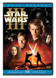 Star Wars Episode III Revenge of The Sith DVD 2005 2 Disc Set Full