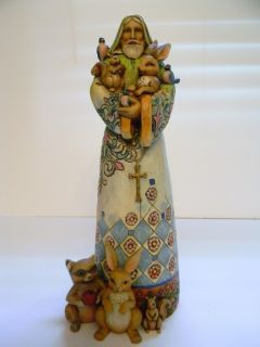 Jim Shore Heartwood Creek St Francis Figurine