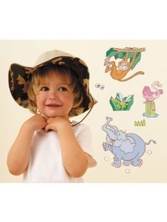 Jungle Safari 21 Large Wall Stickers Fun to See New
