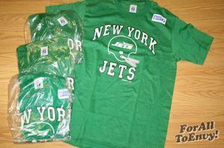 Vintage New York Jets T Shirt Gastineau NFL 80s