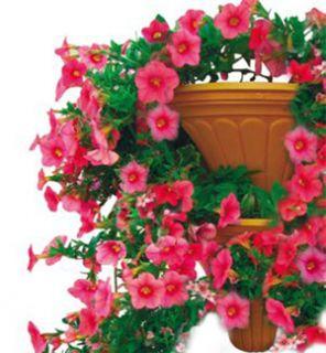 CASCADING INTERLOCKING FLOWER POTS 2PC SET EXPANDABLE GARDEN FLOWERS
