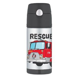 thermos funtainer bottle firetruck