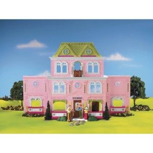 Family Grand Doll House Furniture Dollhouse Christmas Toy