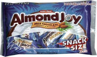 Bag ALMOND JOY Milk Chocolate & Coconut FUN SIZE Candy