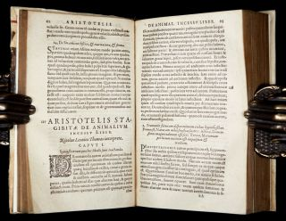 Historia Animalium Problemata Zoology Botany Medicine Gaza TR