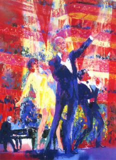 Leroy Neiman Frank Liza Sammy at Royal Albert Hall Sold Out