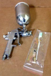 New Pro Swivel Cup 400cc Gravity Feed HVLP Air Spray Paint Gun