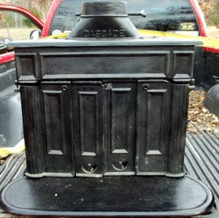 Franklin Cast Iron Wood Burning Stove Used