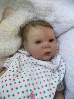 Custom Reborn Michelle Fagan Gena or Gabriel Baby Boy Girl 2 3WEEKS
