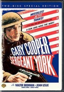 Sergeant York Gary Cooper Academy Award Winner DVD New