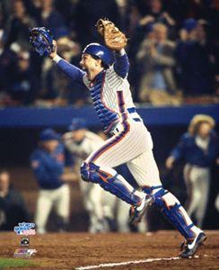Gary Carter Celebration 1986 World Series New York Mets Poster Print