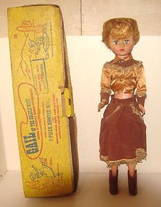 Gail of The Golden West Doll Original Box