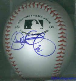 Matt Garza Signed Autographed Baseball Chicago Cubs COA