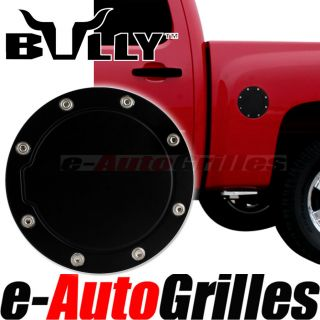 Bully Black 99 06 Chevy Silverado Gas Fuel Cap Door Cover Trim Series