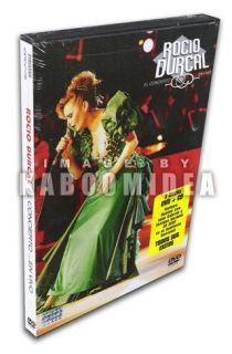 ROCIO DURCAL El Concierto En Vivo EDICION ESPECIAL DVD + CD Todos Sus