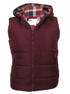 Mens D Code gilet Body Warmer Moyle Hoodie Jacket Coat