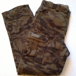NWOT Mens Columbia Gallatin Wool Brown Camo Hunting Pants Size 36