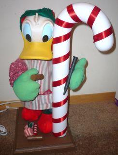 1994 Santas Best Animated Disney Donald Duck Christmas Elf