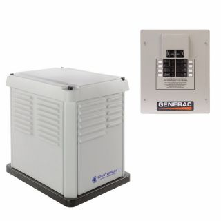 Centurion by Generac Power Systems 7000 Watts LP NG Automatic Transfer