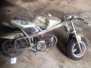 Gas Powered Mini Pocket Bike for Parts