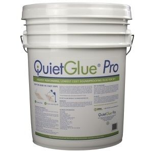 Quiet Glue Pro Sound Dampening Compound 5 Gallon Bucket Quietglue